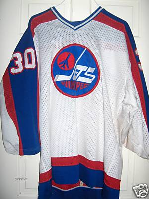 best website 99ee1 869a8 winnipeg jets game worn jersey